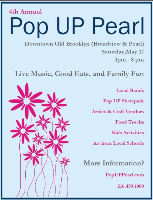 Save the Date: Pop UP Pearl is May 17!!!